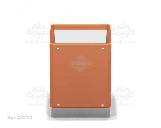 001100 - Урна фанерная на бетонной основе со вставкой
