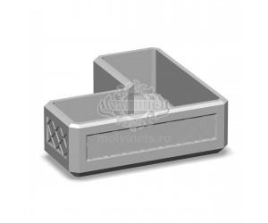 001401 - Вазон бетонный