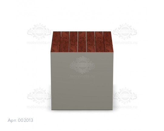 002013 - Скамья металлическая без спинки