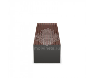 002014 - Скамья металлическая без спинки