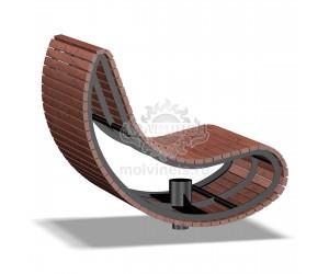 002074 - Кресло вращающееся