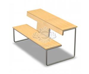 002076 - Скамья-рабочий стол