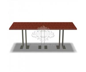 002207 - Стол металлический