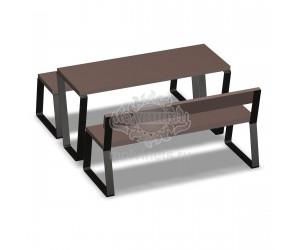 002209 - Стол со скамьями