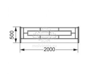 002400 - Ограждение металлическое
