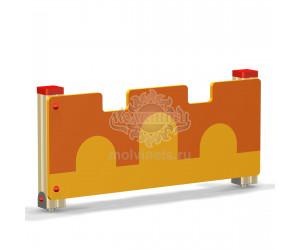 002412 - Ограждение детской площадки (секция + 1 столб)