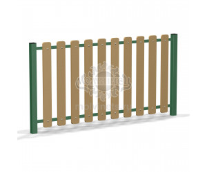002420 - Ограждение детской площадки (секция + 1 столб)