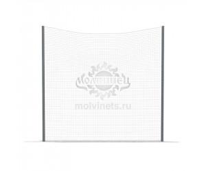 002424 - Ограждение спортивное (отбойная сетка из текстильной нити и стойки)