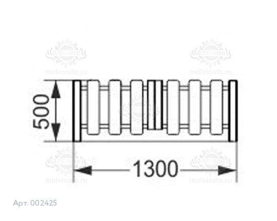 002425 - Калитка распашная