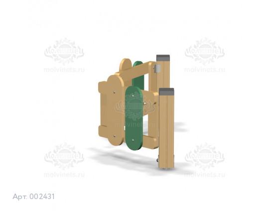 002431 - Калитка распашная