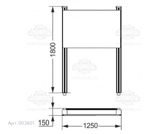002601 - Информационный стенд