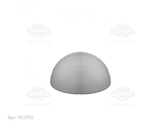 """002702 - Ограничитель движения """"Полусфера малая"""" (бетон, краска)"""