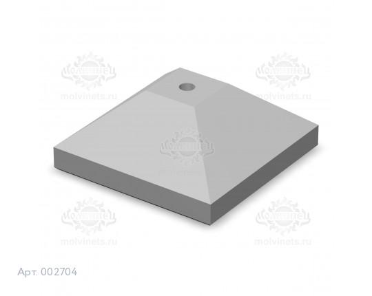 002704 - Ограничитель движения (бетон, краска)