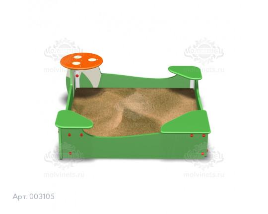 """003105 - Песочница """"Грибница"""""""