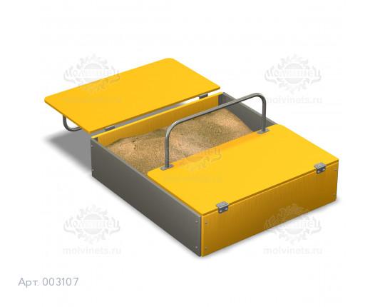 003107 - Песочница с крышкой