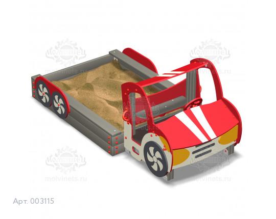 "003115 - Песочница ""Машинка"""
