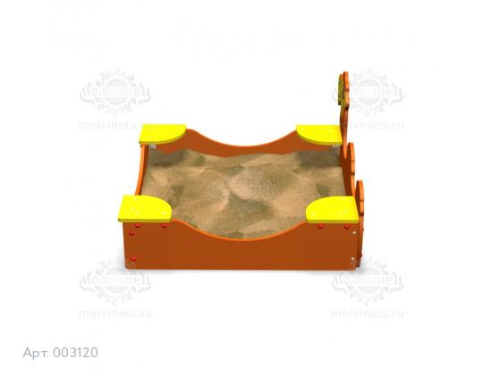 """003120 - Песочница """"Верблюжонок"""""""