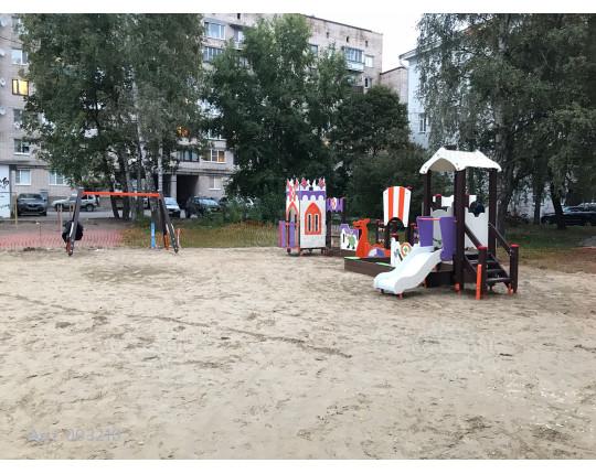 """003210 - Песочный городок с горкой """"Викинги"""""""