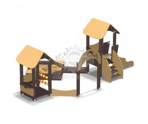 003215 - Песочный городок с горкой