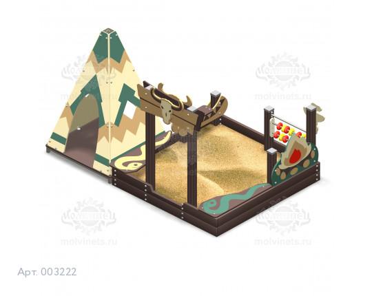 """003222 - Песочный городок """"Могикане"""""""
