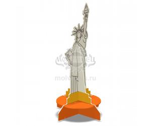 """003414 - Детская скамья """"Статуя Свободы"""""""