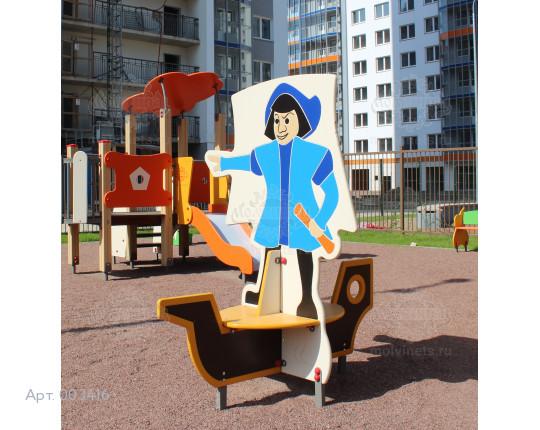"003416 - Детская скамья ""Колумб"""