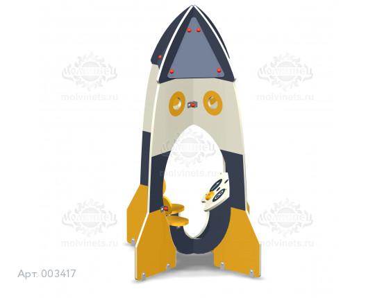 "003417 - Домик-беседка ""Ракета"""