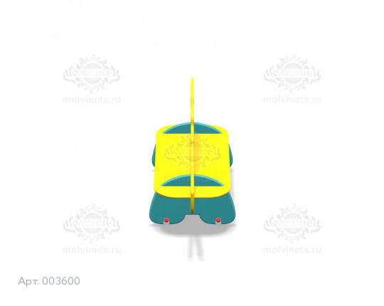 """003600 - Детская скамья """"Анкилозаврик"""""""