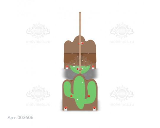 """003606 - Детская скамья """"Вигвам"""""""