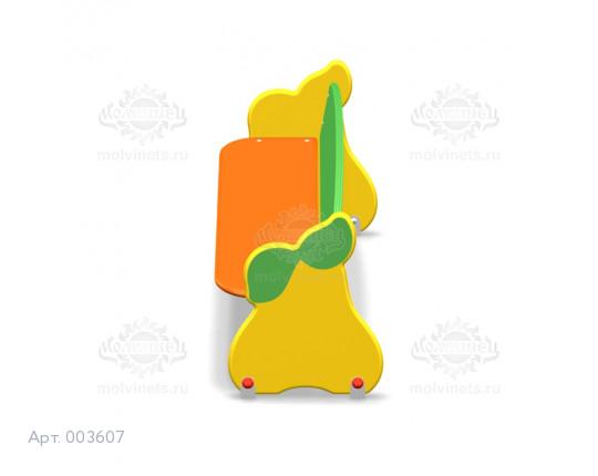 """003607 - Детская скамья """"Груши"""""""