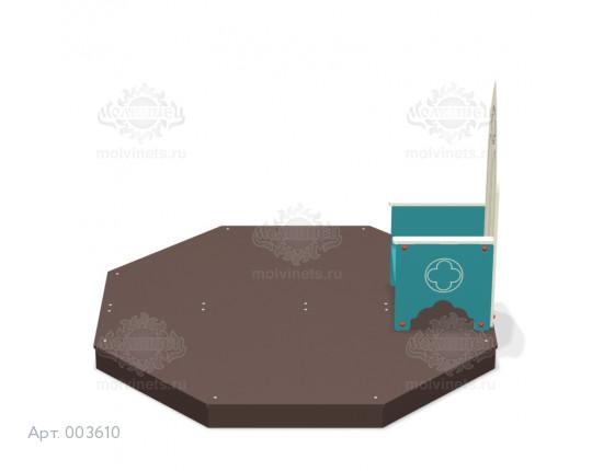 """003610 - Детская скамья """"Время историй"""""""