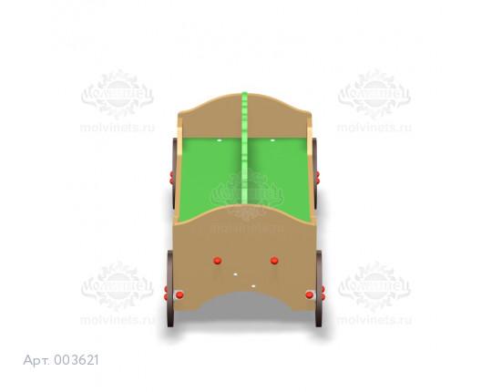 """003621 - Детская скамья """"Цветочная тележка"""""""
