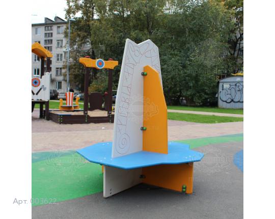 """003622 - Детская скамья """"Рунный камень"""""""