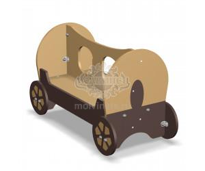 """003624 - Детская скамья """"Фургон"""""""