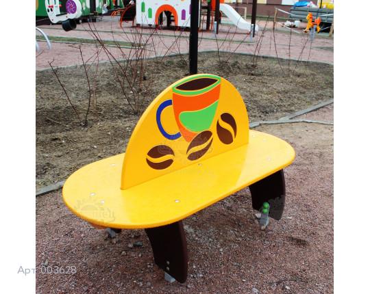 """003628 - Детская скамья """"Кофе"""""""