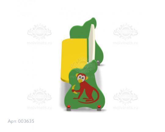 """003635 - Детская скамья """"Обезьянка"""""""
