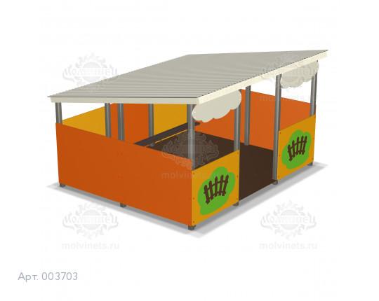 003703 - Веранда для детского сада