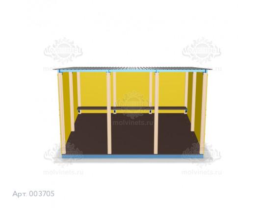 003705 - Беседка для детского сада