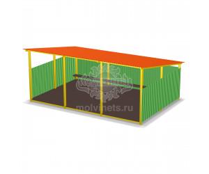 003707 - Теневой навес для детского сада