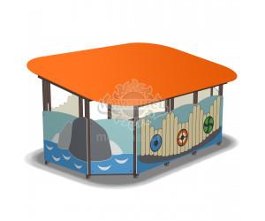 003727 - Веранда для детского сада