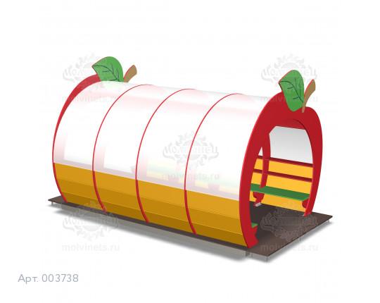 "003738 - Беседка ""Яблочки"""