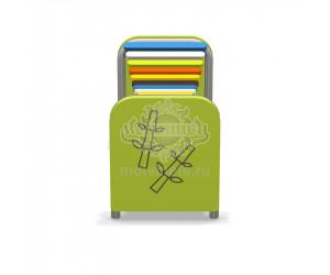 """003812 - Развивающий музыкальный игровой элемент """"Ксилофон-дощечки"""""""