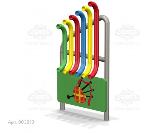 """003813 - Развивающий музыкальный игровой элемент """"Орган-дуги"""""""