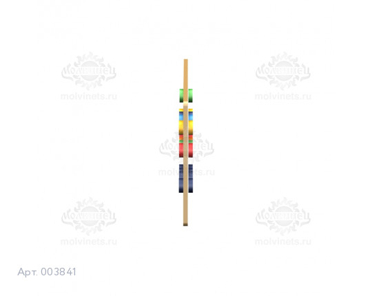 """003841 - Развивающая панель """"Счет"""""""