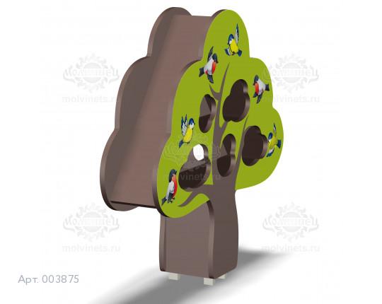 """003875 - Элемент эко-фермы """"Птичья столовая - Дерево"""""""