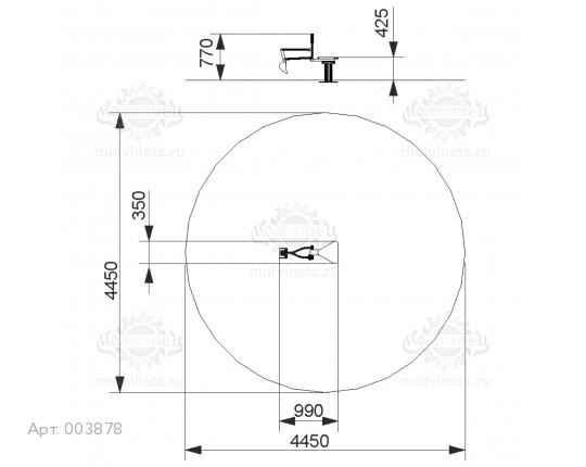 """003878 - Развивающий элемент """"Экскаватор"""""""