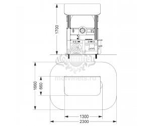 """003882 - Развивающий игровой элемент """"Кухня с крышей"""""""