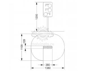 003900 - Развивающий элемент ПДД «Светофор»