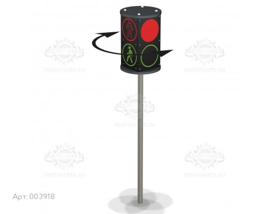 """003918 —Дорожное устройство """"Пешеходный переход"""" вращающийся"""