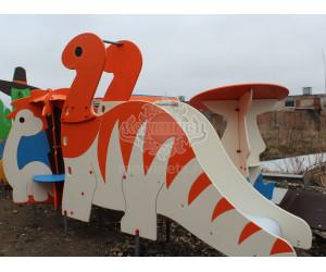 "004007 - Горка ""Динозаврик"""
